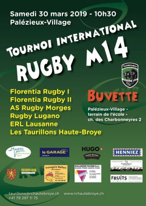 Rugby - Le rugby italien débarque dans la Broye